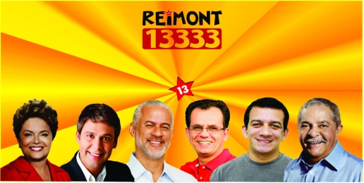 Nós estamos com Reimont 13.333