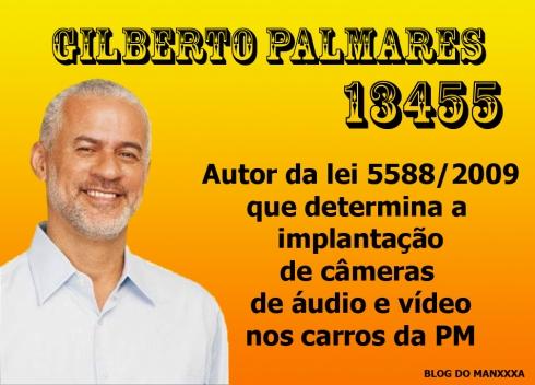 Lei deputado Gilberto Palmares